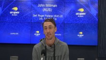 'I'll remember it for a long time', says Millman after shock Federer win