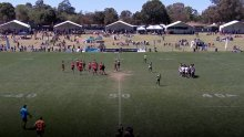 Rugby League 2018: Koori Knockout S2018 Ep4 - Men's Round 2: Cabbage Tree Island 1 V Griffith 3 Ways United