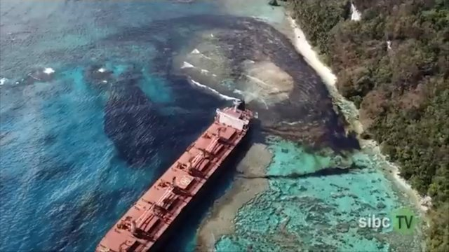 Ship owner sorry for Solomons oil spill amid liability concerns