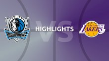 NBA Highlights - Dallas Mavericks v LA Lakers