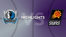 NBA Highlights - Dallas Mavericks v Phoenix Suns