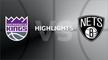 NBA Highlights - Sacramento Kings v Brooklyn Nets