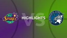 WNBA Highlights - Los Angeles Sparks v Minnesota Lynx