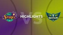 WNBA Highlights - Los Angeles Sparks v Dallas Wings