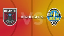 WNBA Highlights - Atlanta Dream v Chicago Sky