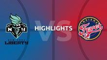WNBA Highlights - Indiana Fever v New York Liberty