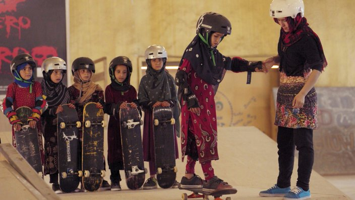 Learning To Skateboard In A Warzone