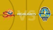 WNBA highlights - Connecticut Sun v Chicago Sky