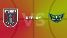 WNBA replay: Atlanta Dream v Dallas Wings