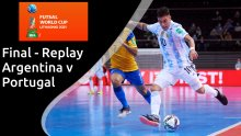 Full replay: FIFA Futsal World Cup final - Argentina v Portugal