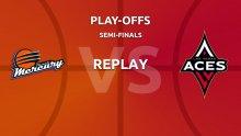 WNBA replay: Phoenix Mercury v Las Vegas Aces