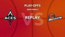 WNBA replay: Las Vegas Aces v Phoenix Mercury