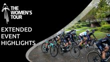 Extended event highlights: The Women's Tour
