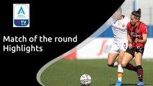 Highlights: Milan v Roma - Serie A Femminile